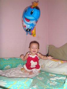 balon raja ikan aan smile