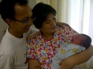 foto keluarga pertama Maret 2012