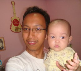 with daddy d2