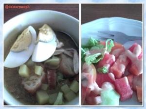 sarapan salib putih